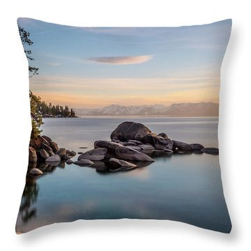 Thunderbird View Throw Pillow