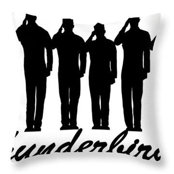 Thunderbirds Pilots Throw Pillow