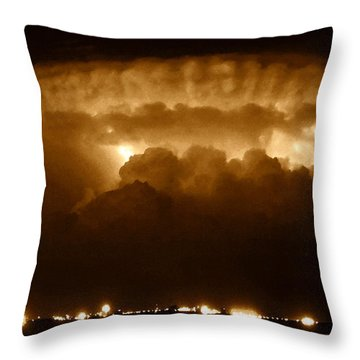 Thundercloud Throw Pillow by David Lee Thompson