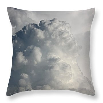 Thunderhead Clouds Throw Pillow