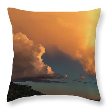 Thunderhead In Sedona Throw Pillow