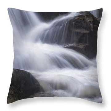 Thundering River Throw Pillow