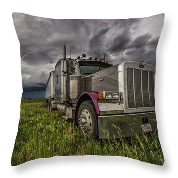Thunderstruck Throw Pillow