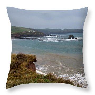 Thurlestone Rock Throw Pillow