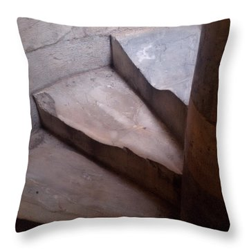 Thy Weary Way Throw Pillow