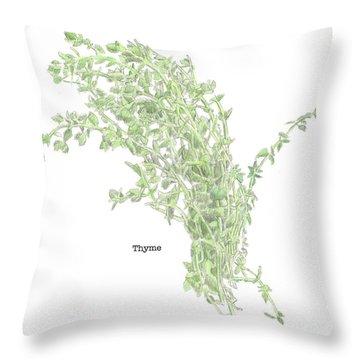 Thyme Throw Pillow