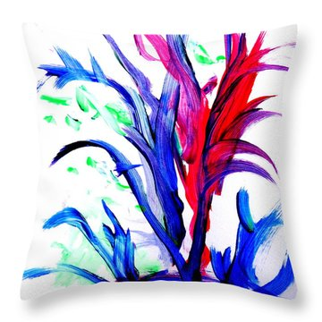Ti Throw Pillow by Fred Wilson