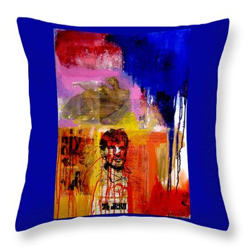 Ti Jean Throw Pillow by James Gallagher