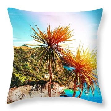 Ti Kouka Throw Pillow