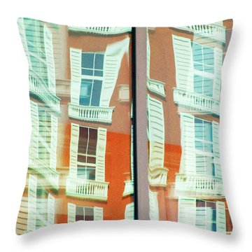 Ti Reflection Throw Pillow