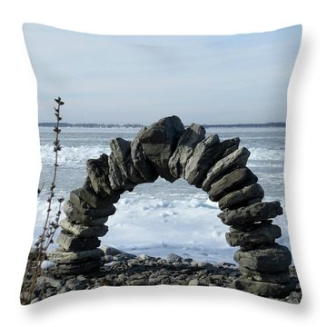 Tibbetts Point Arch Throw Pillow
