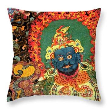 Tibet_163-7 Throw Pillow