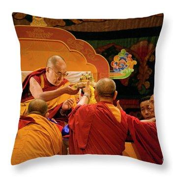 Tibetan_d124 Throw Pillow