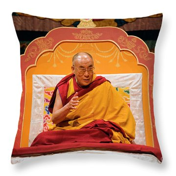 Tibetan_d130 Throw Pillow