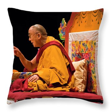 Tibetan_d149 Throw Pillow