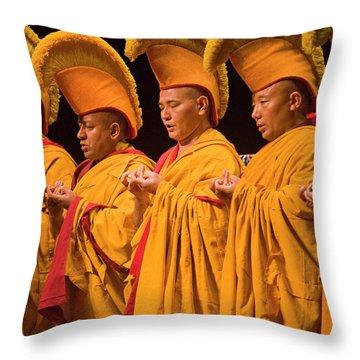 Tibetan_d303 Throw Pillow
