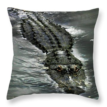 Throw Pillow featuring the photograph Tick Tock by Anthony Jones