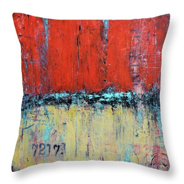 Ticket No. 72173 Throw Pillow