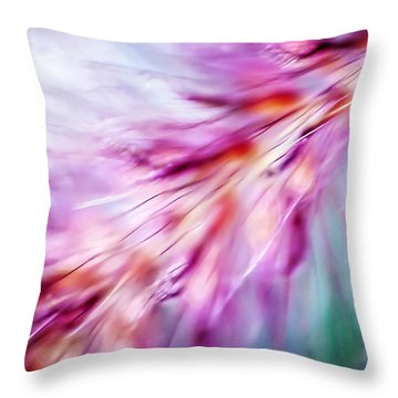 Tickle My Fancy Throw Pillow by Carolyn Marshall