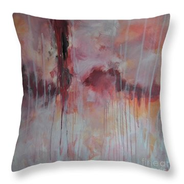 Tickled Pink 2 Throw Pillow
