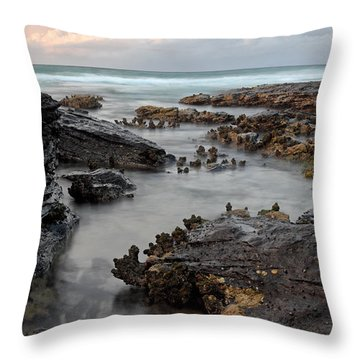 Tidal 2 Throw Pillow