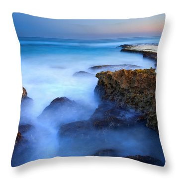 Tidal Bowl Boil Throw Pillow