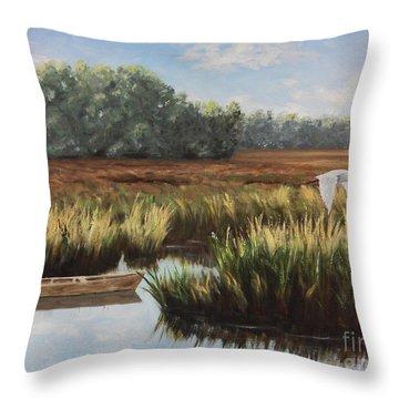 Tidal Creek Throw Pillow