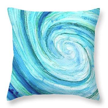 Tidal Throw Pillow