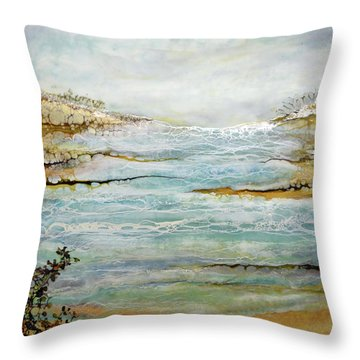 Tidal Pool 1 Throw Pillow
