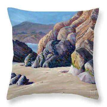 Tidal Shift Throw Pillow