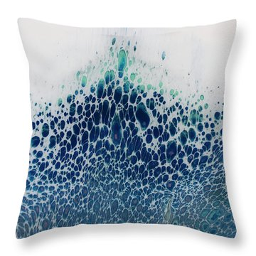 Tideless Sea Throw Pillow