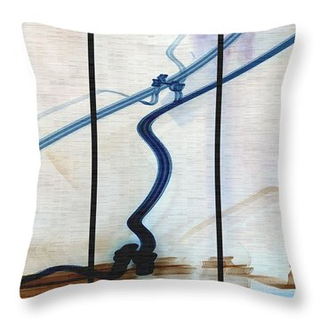 Tied The Knot Throw Pillow