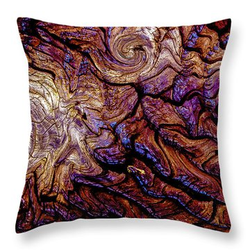 Tied Up In Knots Throw Pillow