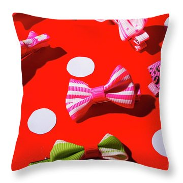 Bow Throw Pillows