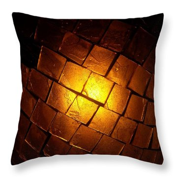 Tiffany Lamp Throw Pillow