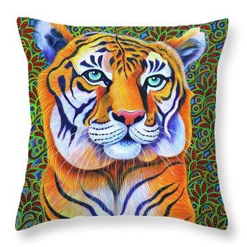 Tiger, 2018 Throw Pillow