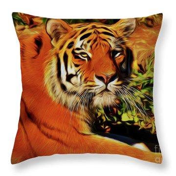 Tiger 22218 Throw Pillow