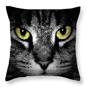 Tiger Tiger 3 Throw Pillow