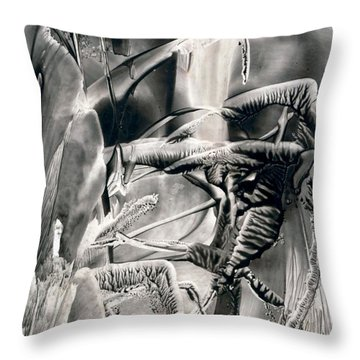 Tigerbug Throw Pillow