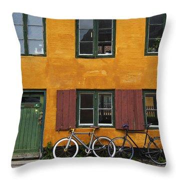 Tigergade Apartment Scene Throw Pillow