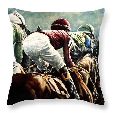 Tight Quarters Throw Pillow by Thomas Allen Pauly