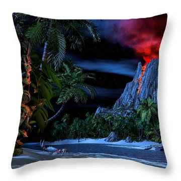 Totems Throw Pillows