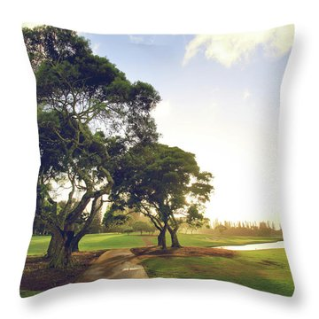 Throw Pillow featuring the photograph 'til I'm In Your Arms Again by Laurie Search