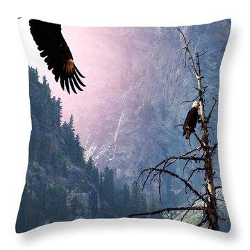 Till Death Do Us Part Throw Pillow