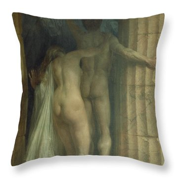 Till Death Us Do Part Throw Pillow by SCH Goetze