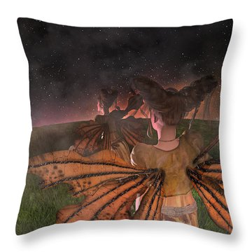 Till I See You Again  Throw Pillow