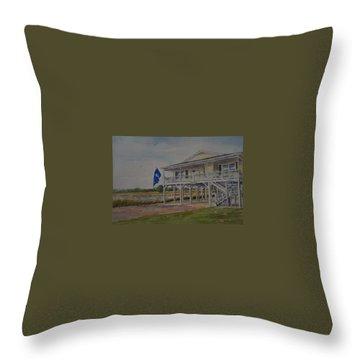 Tillman Beach Home Throw Pillow