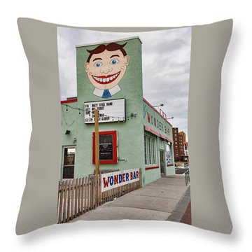 Tilly And The Wonder Bar Throw Pillow