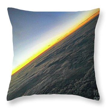 Tilt Horizon Throw Pillow