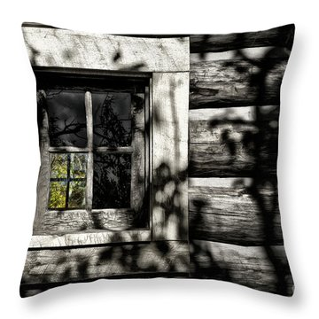 Throw Pillow featuring the photograph Timber Hand-crafted by Brad Allen Fine Art